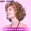 monofilament top wigs coloured wigs synthetic monofilament wigs