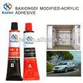 Pegamento adhesivo excelente para plástico ABS industrial