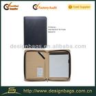 2014 new design a4 pu portfolio cover for ipad mini