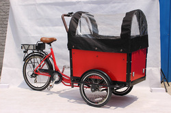 front cargo tricycle