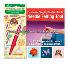 2013 new Pen Style Needle Felting Tool ,machine needle felting and machine embroidery