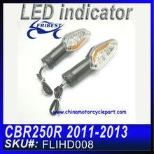 FOR HONDA CBR250R 2011-2013 MC41 Turn Signal Flasher CLEAR&YELLOW FLIHD008