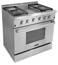 HRG3609U 36 inch free standing cooking range