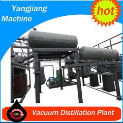 Chongqing 500L-30T/D Vacuum Used Engine Oil Refining Machine