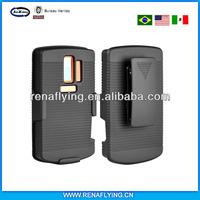 china wholesale market kickstand belt clip cover for nokia asha 205