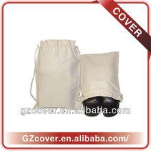 custom made 8oz cotton drawstring shoe bag