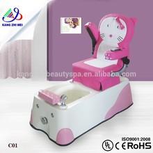 Children salon equipment chair,pink portable beauty salon chair,children beauty salon chairs KM-C01