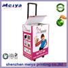 Recyclable Exhibition Cardboard Trolley Box, Carton Trolley, Paper Box Trolley