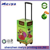 Recyclable Exhibiting Cardboard Trolley Box for Dog Foods