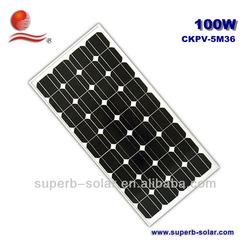 beat price per watt solar panels 100w
