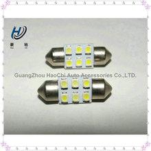 manufacturer 31mm 6 SMD 3528 12v led festoon auto bulb