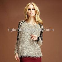 OEM high quality American /western styles ladies sweater loose style