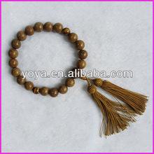 PBB005 Chicken Wing Wood buddhist japanese prayer beads,tasbih wood prayer beads