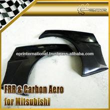 For Mitsubishi Lancer Evolution EVO 10 FRP Carbon Fiber VA-Style Full Wide Body Rear Fender
