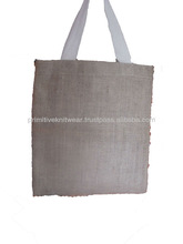 Fold able Natural Jute Shopping bags