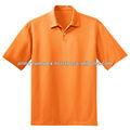 Camisa polo de malha/laranja cor camisa polo/100% algodão única camisa de polo dos homens camisa