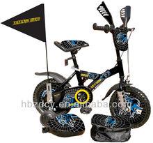 wzd-tc100c kids bike with helmet ,bag,training wheels,flag passed CE