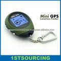 Ao ar livre Mini receptor GPS GPS Logger Mini GPS chaveiro localizador