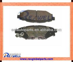 Auto brake pads used for SUBARU LEGACY B13BL motors,original high quality,26696-AG030
