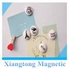 Cute Mini Round Shape Ceramic Fridge Magnets