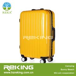 Yellow Travel luggage/Carry-on suitcase/hard shell luggage
