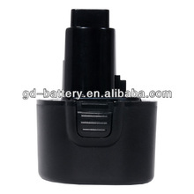 High quality 9.6V replacement Cordless tool battery for Dewalt