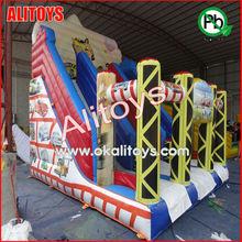 NICE inflatable car slide Car model inflatable slide