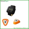 high-strengh material wireless customer calling wrist watch pager