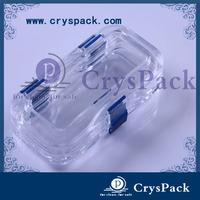 Transparent Denture little case dental tool box