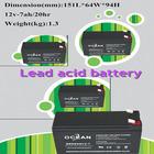 12v 7ah motorcycle valve regulated lead acid battery