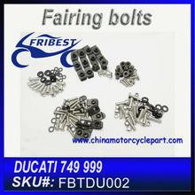 FOR DUCATI 749 999 Fairing bolts kit FBTOU002