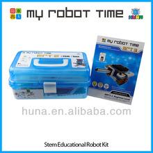 MRT 3-2 STEM educational plastic block robot kit for children