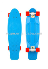 SGS 2014 original penny board skateboards outdoor slateboards cheap plastic penny skateboard