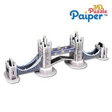 UK tower bridge 3d paper puzzle architectural model maker