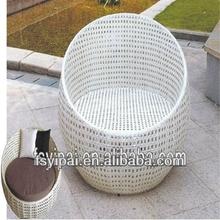 2014 New Arrvial Steel rattan outdoor sofa bed