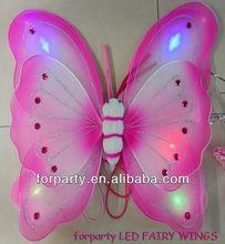LAS-0215 LED flashing fairy butterfly wings
