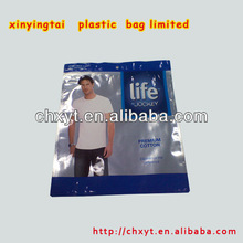 recyclable and ecofriendly ziplock clothing packaging bag