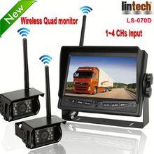New! 7 inch digital wireless car entertainment system (LS-070D)