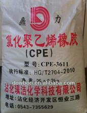 CPE cpe135a cpe chlorinated polyethylene impact modifier
