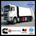 conveniente especial vehical shacman china euro3 6x4 barato caminhãodelixo capacidade