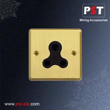 15A 1 Gang Round-Pin Socket