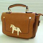 fashion lady handbag tote bag with horse s323