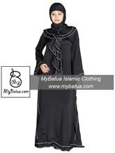Wholesale, Modern Ethinc Muslim Hijab Dress, Fancy Burka, Islamic Jilbab Clothing, Wardah Abaya AY-124