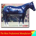 alta emulational de fibra de vidrio a tamaño real del caballo