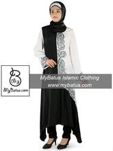 Ethnic Muslim Dress, Wholesale, Islamic Hijab Clothing, Ladies Maxi, Dubai Very Facny Jilbab, Ara Short Abaya AY-272