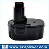 ex-factory price rechargeable NI-MH for dewalt power tool batter for DC9091, DE9038, DE9094, DE9502, DW9091, DW9094, 3000mAh,