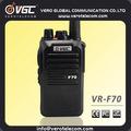 Fire Engine 2-Way sem fio FM transceptor UHF VHF Scrambler de voz à prova d ' água rádio portátil