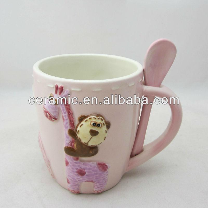 Animal Shaped Mugs Ceramic Animal Shaped Mugs Custom Shape
