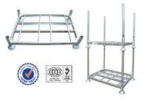 Stainless steel bakery bread racks