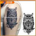 Black corpo etiqueta do tatuagem para os homens- eagle estilo